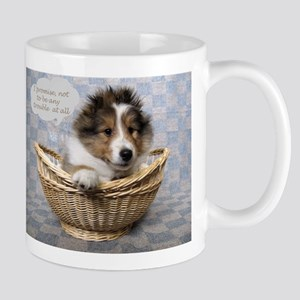 I promise not to be any trouble at all Mug