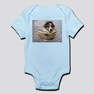 I promise not to be any trouble at Infant Bodysuit