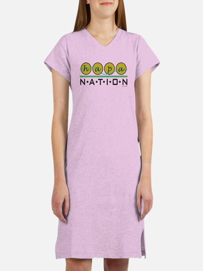 Hapa Nation 2 In A Women's Nightshirt