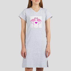 Flamingo Love Women's Nightshirt