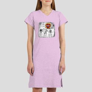 Flaming Heart - Women's Nightshirt