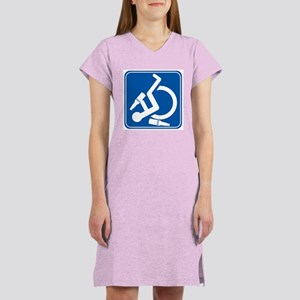 Wheelie Wasted! Women's Nightshirt