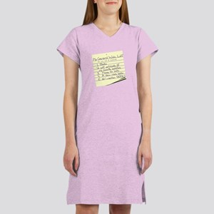Booklover's Wish List Women's Nightshirt