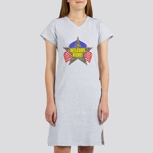 USA Troops Welcome Home Women's Nightshirt
