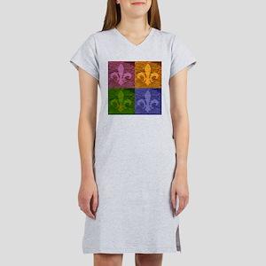 Fleur De Lis Art - Women's Nightshirt