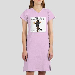 LHBT Oktoberfest Dachsie Women's Nightshirt