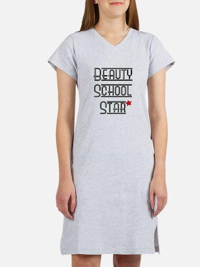 Beauty School Star Women's Nightshirt
