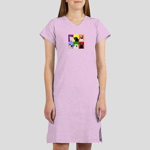 Rainbow Pugs Logo Women's Nightshirt