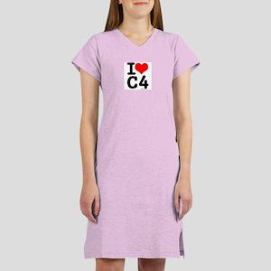 I Love C4 Women's Nightshirt