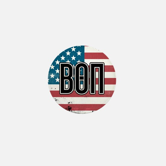 Beta Theta Pi Flag Mini Button