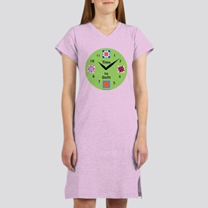 Time to Quilt Women's Nightshirt
