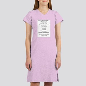 Laws of O.T. Women's Nightshirt