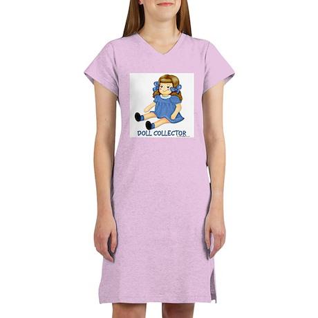 Blue Rag Doll Women's Nightshirt
