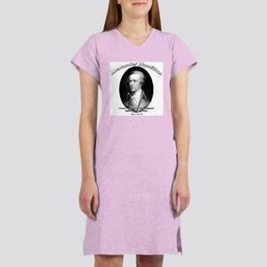 Alexander Hamilton 03 Women's Nightshirt