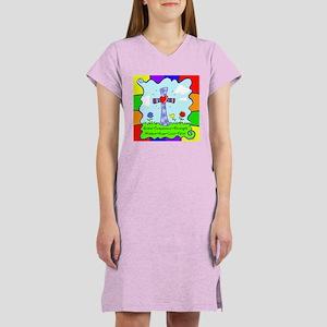 Colorful Cross Women's Nightshirt