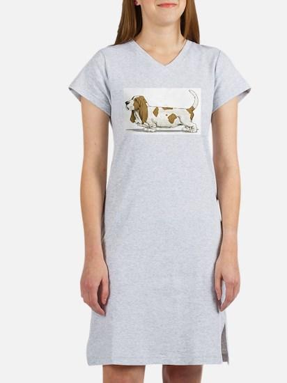 Basset Hound Women's Nightshirt