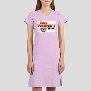 Fire Fighter's Wife Women's Nightshirt