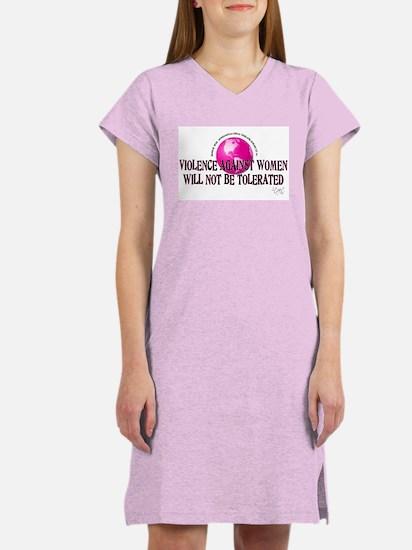 Stop Violence Against Women Women's Nightshirt