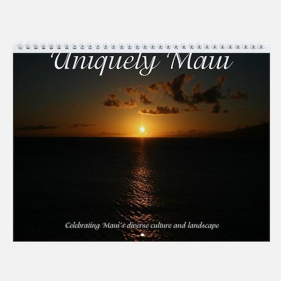 Uniquely Maui Wall Calendar