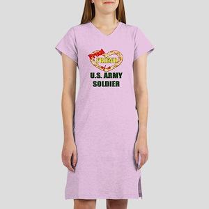 Proud Army Friend Women's Nightshirt