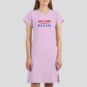 McCain Palin Logo Women's Nightshirt