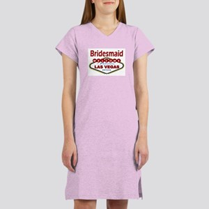 Las Vegas Bridesmaid Women's Nightshirt