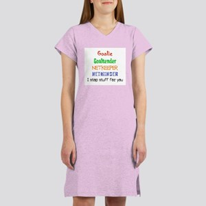 I stop stuff Women's Nightshirt