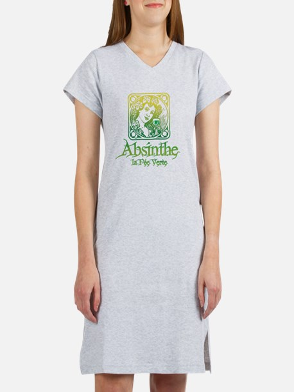 Absinthe Fairy Vintage Women's Nightshirt