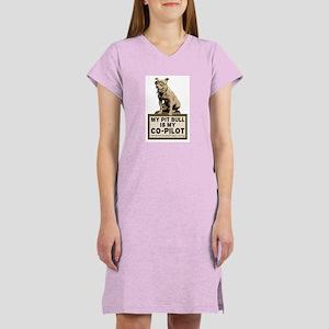 Pit Bull Pilot Women's Nightshirt