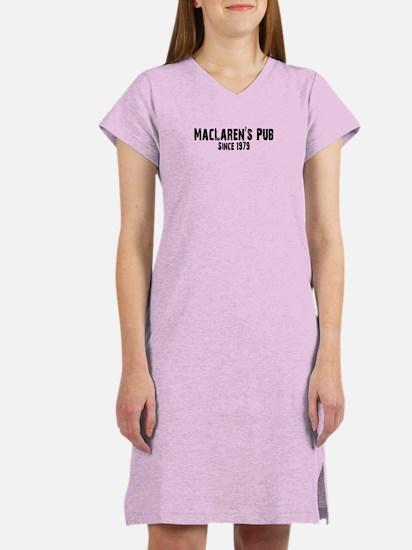 MacLaren's Pub Women's Nightshirt