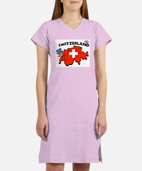 Switzerland Women's Nightshirt