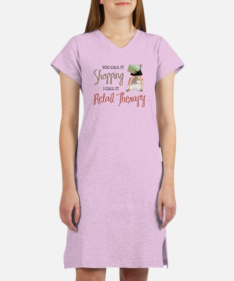 Retail Therapy Women's Nightshirt