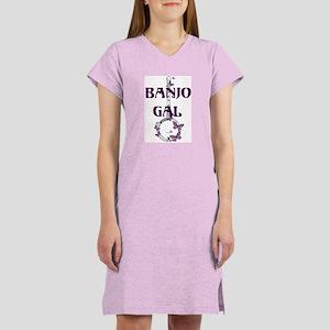 Butterfly Banjo Women's Nightshirt