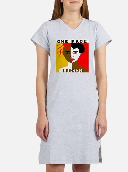 Anti-Racism Night Shirt Women's Nightshirt