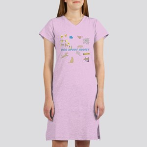 Dog Sport Addict Women's Nightshirt