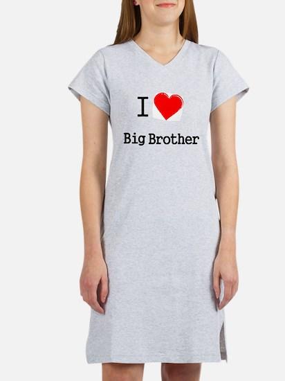 I heart big brother Women's Nightshirt