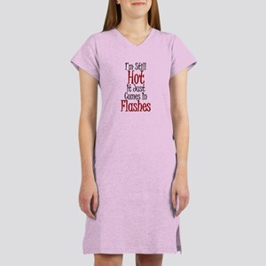 Hot Flashes Women's Nightshirt