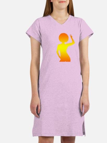 Sexy Fro Women's Nightshirt