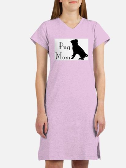 Pug Mom Women's Nightshirt