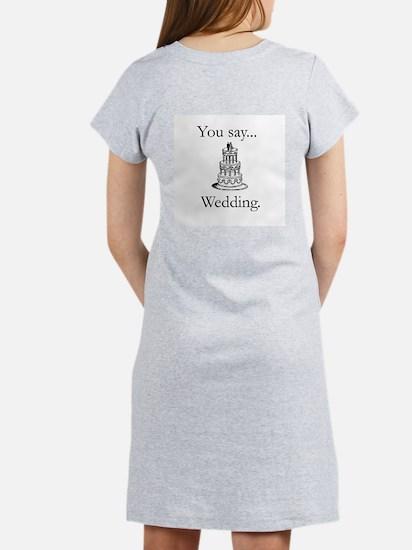 Ladies shotgun wedding Nightshirt