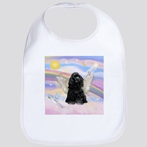 Cocker Angel in Clouds Bib