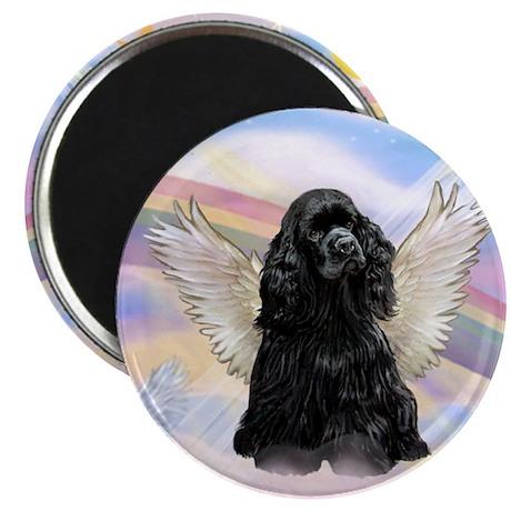Cocker Angel in Clouds Magnet