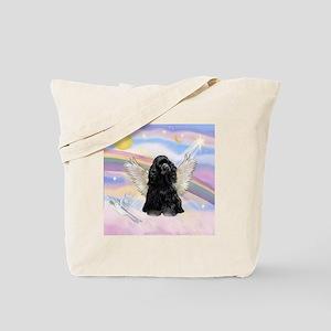 Cocker Angel in Clouds Tote Bag