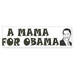 A Mama for Obama Sticker (Bumper 10 pk)