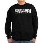 A Mama for Obama Sweatshirt (dark)