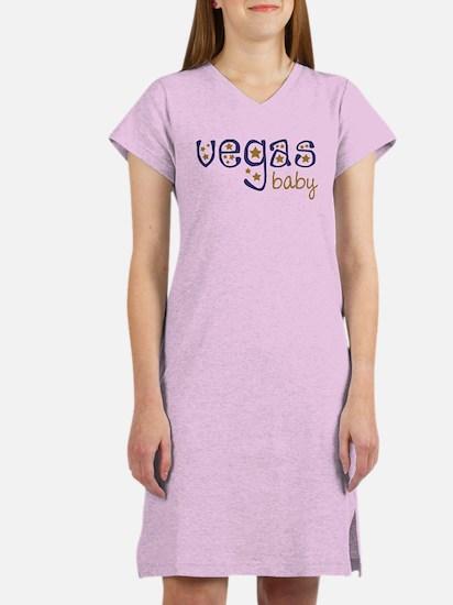 Vegas Baby Women's Nightshirt