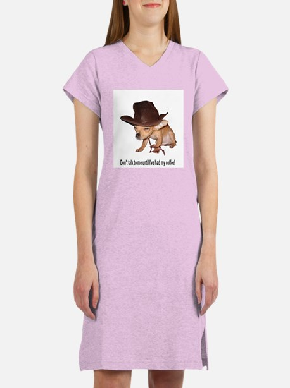 Cute Coffee lover Women's Nightshirt