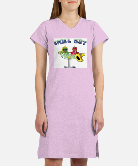 Chill Out Women's Pink Nightshirt