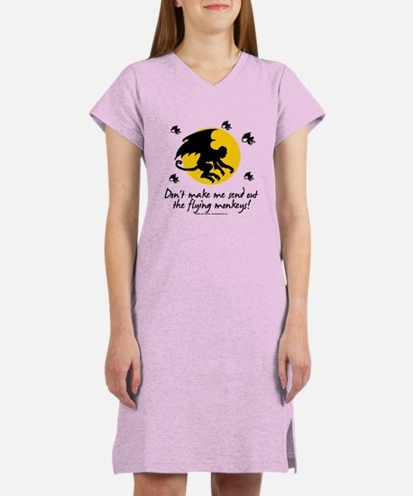 Send Out The Flying Monkeys! Women's Nightshirt