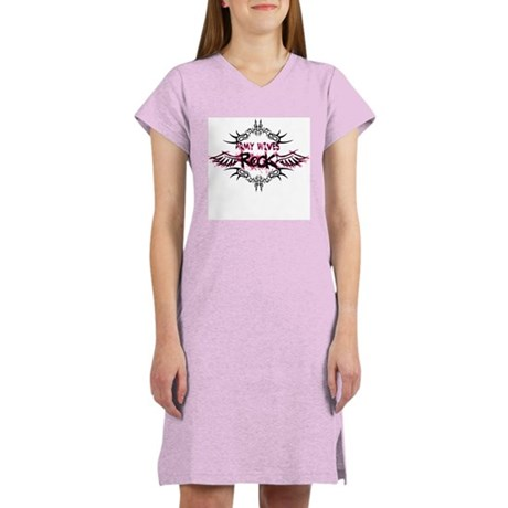 Army Wives Rock Women's Nightshirt